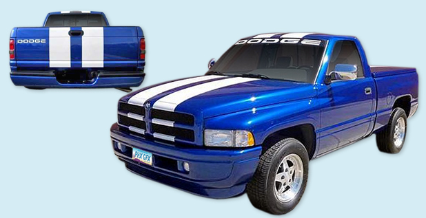 1996 DODGE RAM 1500 INDY 500 PACE TRUCK Body Graphics