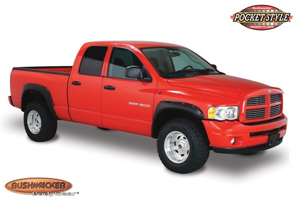 Bushwacker Pocket Style Fender Flare Kit 02-09 Dodge Ram Pickup