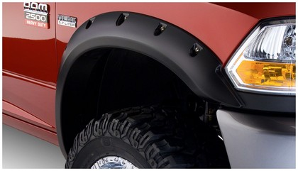 Bushwacker Pocket Style Fender Flare Kit 10-18 Dodge Ram 25-3500