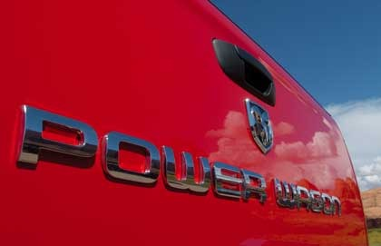 "Mopar OEM Chrome ""Power Wagon"" Emblem"