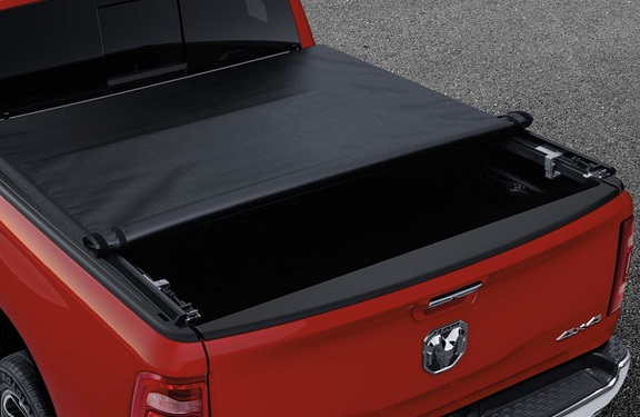 "Mopar Soft Roll-up Tonneau Cover 19-up Ram 5'7"" Bed with RamBox"