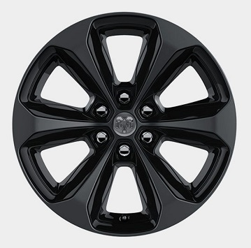 "Mopar 20"" Black Onyx Wheel 2019-up Dodge Ram 1500"