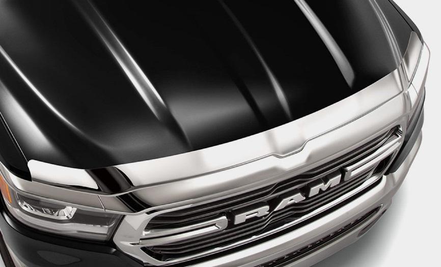 Mopar Chrome Front Air Deflector 2019-up Ram 1500 Crew
