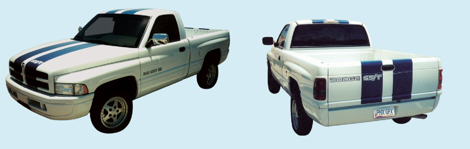1997-98 DODGE RAM 1500 SS/T TRUCK Body Graphics