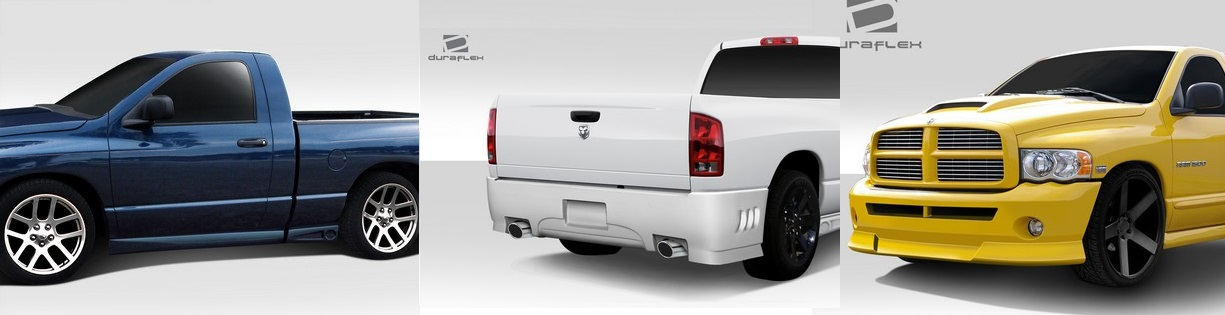 Duraflex BT-2 Complete Body Kit 02-05 Dodge Ram 2 Door