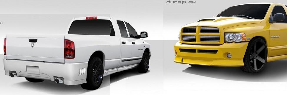 Duraflex Bt 2 Complete Body Kit 02 05 Dodge Ram 4 Door Duraflex Bt 2