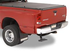 Bestop TrekStep Rear Bed Step 09-18 Dodge Ram Dual Exhaust