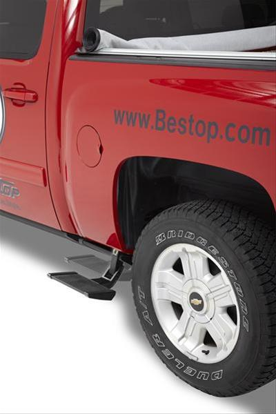 Bestop TrekStep Side Bed Steps 09-18 Dodge Ram