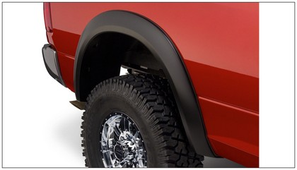 Bushwacker Extend-A-Fender Flare Kit 10-18 Dodge Ram 2500-3500