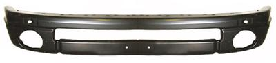 Black Steel Front Sport Bumper Reinforcement 02-08 Dodge Ram
