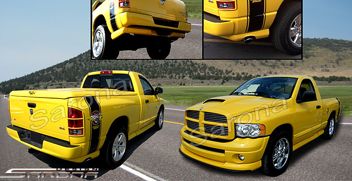Fiberglass Rumble Bee-Daytona Body Kit 02-05 Dodge Ram 2 Door