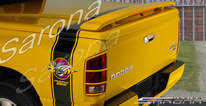 Sarona Lighted Rear Dual Pedelstal Wing Dodge Ram Rumble Bee