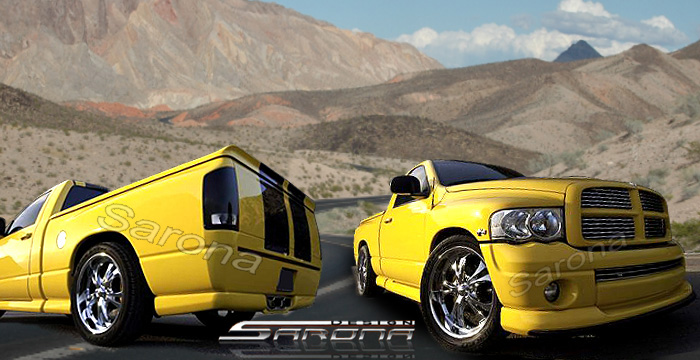 Sarona Rumble Bee-Daytona Body Kit 02-05 Dodge Ram 2 Door