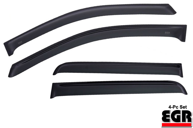 EGR Smoke In-Channel Vent Visors 02-08 Dodge Ram Single Cab