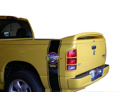 Fiberglass SRT-10 Factory Style Rear Spoiler 02-18 Dodge Ram