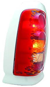 GTS Flamed Pro Beam Tail Light Covers 94-02 Dodge Ram