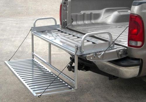 02-08 Dodge Ram Loading Ramps, 02-08 Dodge Ram Tailgate Ladders, 02
