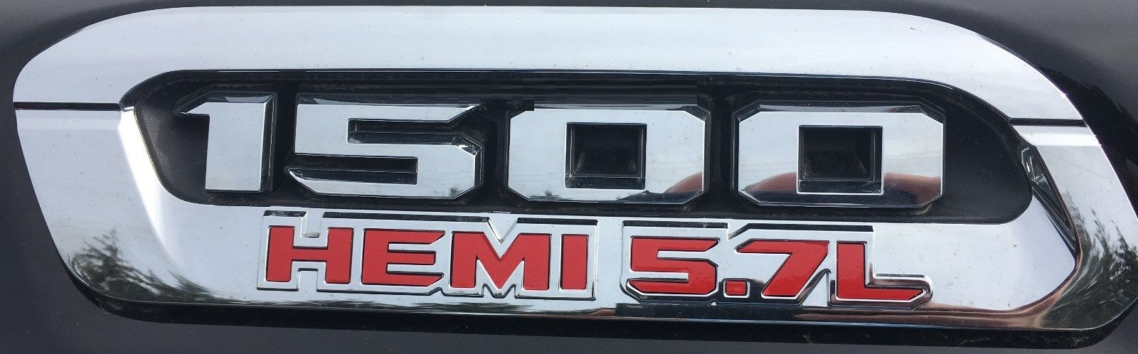 2019 Ram Rebel Badge Inlay Decal Sticker