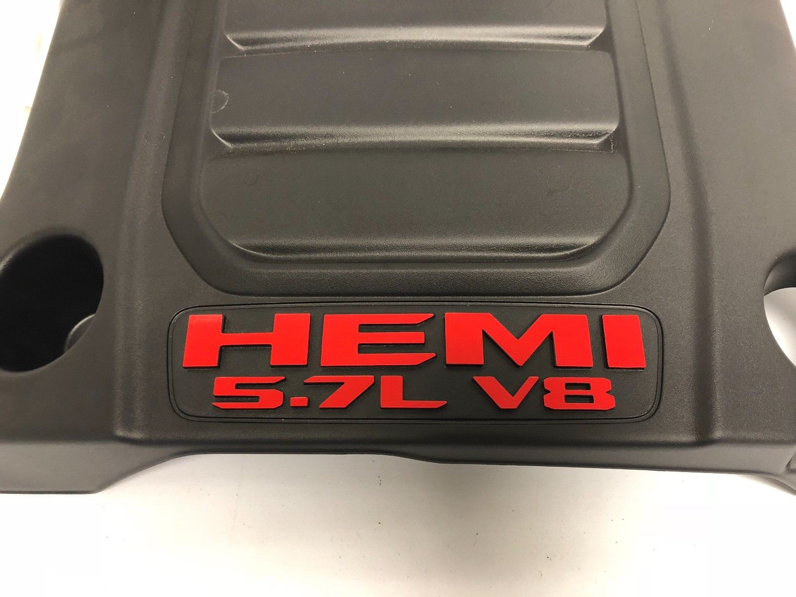 """HEMI 5.7L V8"" Underhood Decal Overlay Kit 2019 Ram Truck"