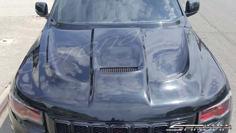 Sarona Fiberglass Heat Extractor Hood 11-up Jeep Grand Cherokee