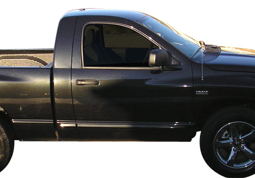 Mopar Chrome Body Side Molding 02-08 Dodge Ram Single Cab