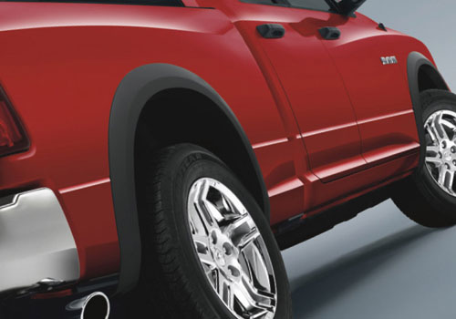 Mopar Street Style Fender Flare Kit 02-09 Dodge Ram Long Bed