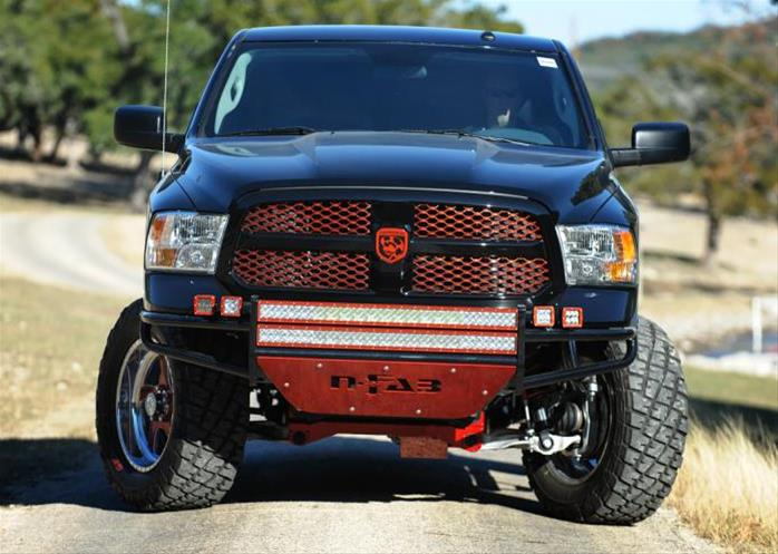 N-FAB Full Replacement R.S.P. Front Bumper 2009-18 Dodge Ram