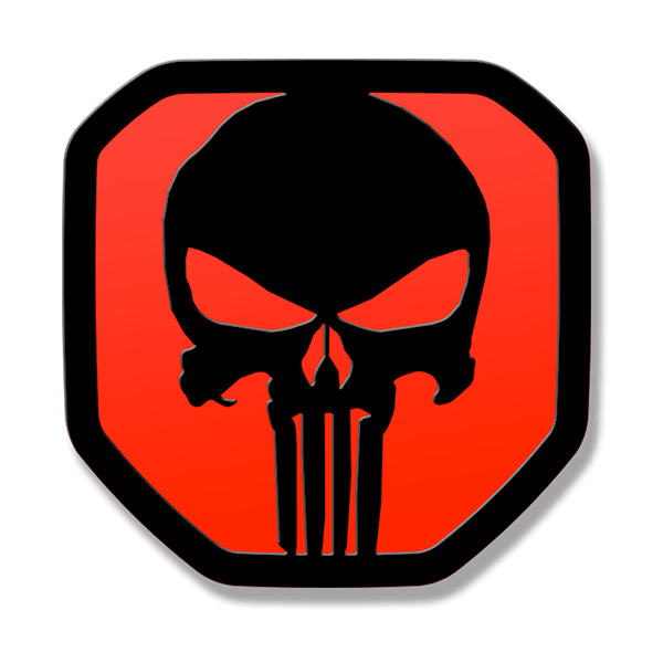 Punisher Tailgate Emblem 2019 Up Ram 1500 Punisher Tailgate Emblem