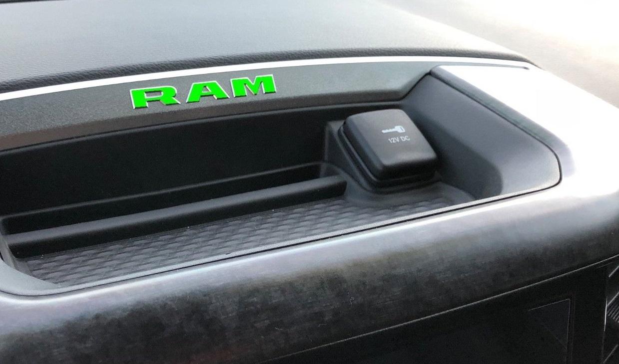 RAM Dash Decal Overlay Kit 2019 Ram Truck RAM Dash Decal