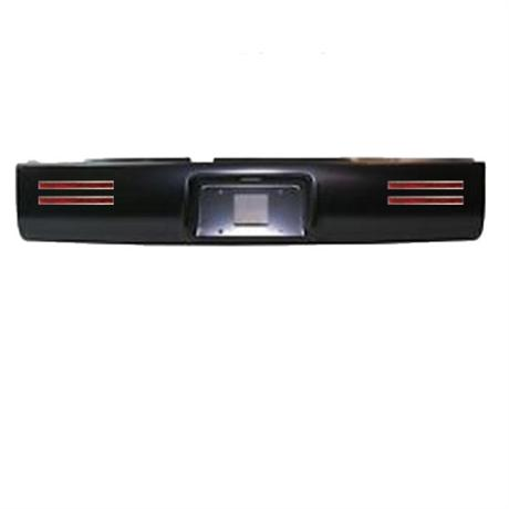 Steel Roll Pan With License And 4 LED Lights 02-08 Dodge Ram