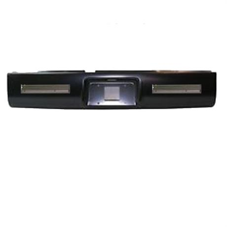 Steel Roll Pan With License And Billet 02-08 Dodge Ram