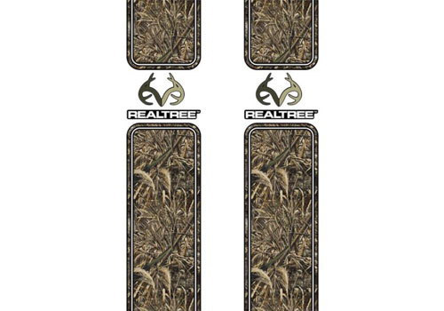 Max-5 Camo Pattern with RealTree Logo Bed Stripes