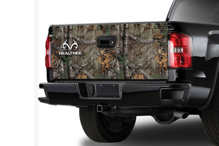 Xtra Camo Pattern with RealTree Logo Tailgate Graphic