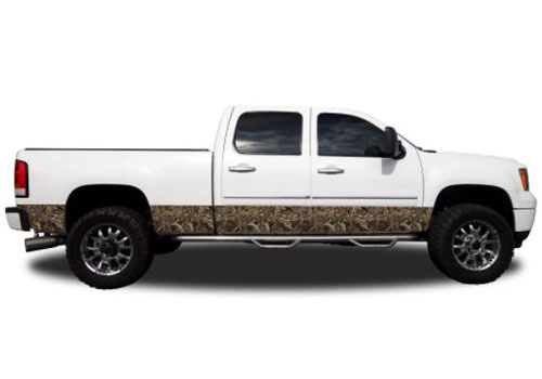 "Max 5 Camo Pattern 12"" Wide Rocker Panel Kit"