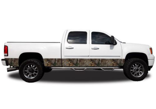 "Xtra Camo Pattern 12"" Wide Rocker Panel Kit"