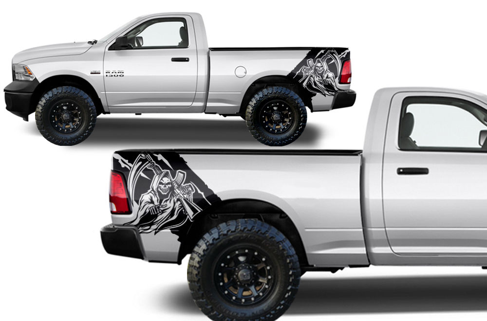 Custom Reaper Body Graphics Decal Kit