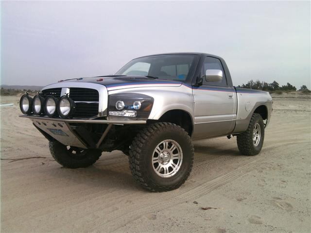"Roadrunner 4.5"" Fiberglass Fenders 94-01 Dodge Ram Conversion"