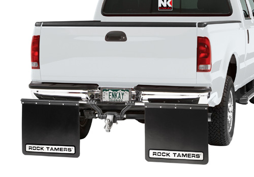 "Rock Tamer 2"" Reciever Hitch Mount Mud Flap System"