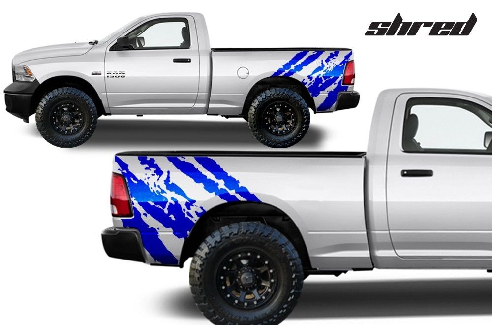 Custom Shred Body Graphics Decal Kit