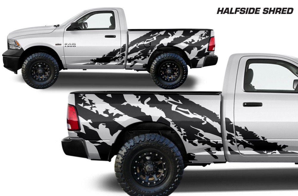 Custom Shredder Body Graphics Decal Kit
