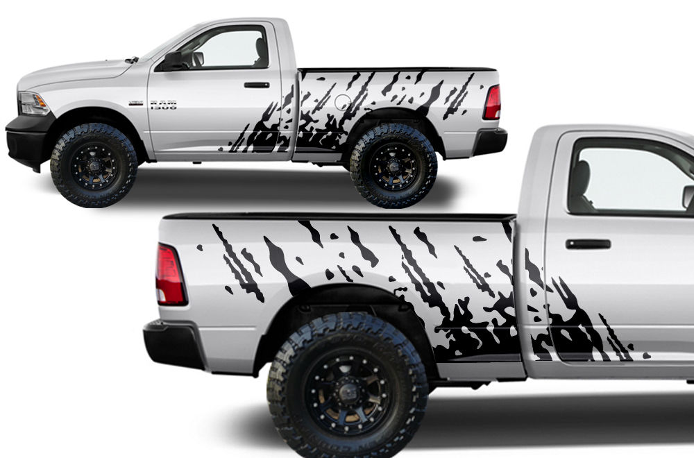 Custom Splash Body Graphics Decal Kit