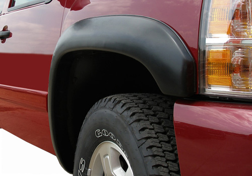 Black Trail Riderz Fender Flare Kit 02-09 Dodge Ram 6.5 ft. Bed