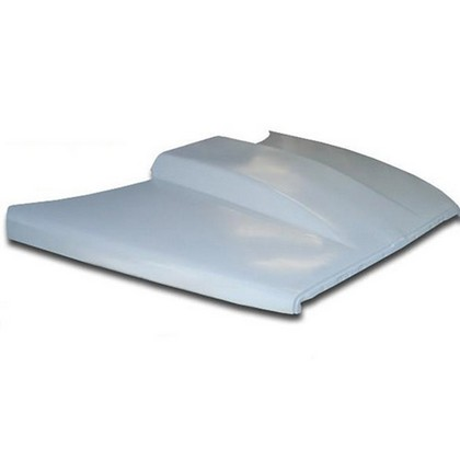 "US Body Fiberglass 3.5"" Cowl Dominator Hood 94-01 Dodge Ram"