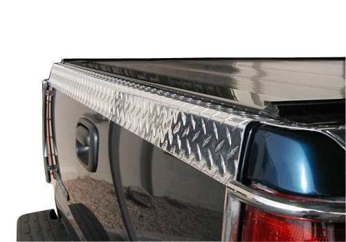 Willmore Polished TreadBrite Tailgate Protector 02-08 Dodge Ram