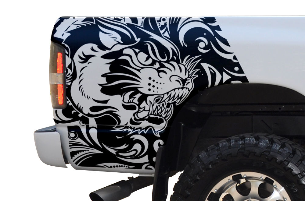 Custom Tiger Body Graphics Decal Kit