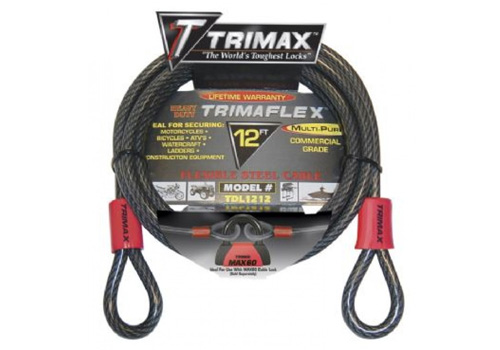 Trimax 12' x 12mm Quadra Braid Trimaflex Cable
