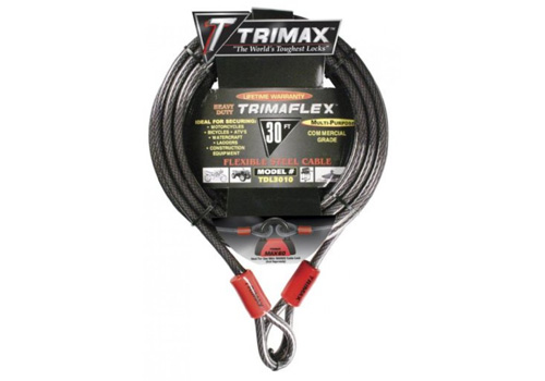 Trimax 30' x 10mm Quadra Braid Trimaflex Cable