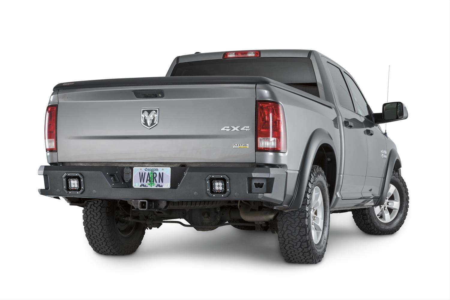 Warn Ascent Rear Truck Bumper 2009-18 Dodge Ram