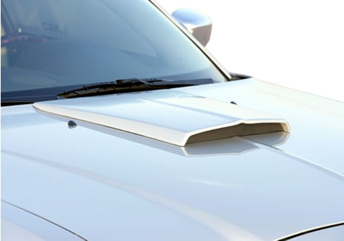 Xenon Single Grooved Hood Scoop