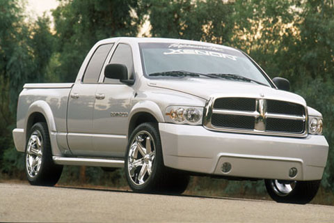 Xenon Ram Rod Complete Body Kit 02-05 Dodge Ram 4 Door Gas